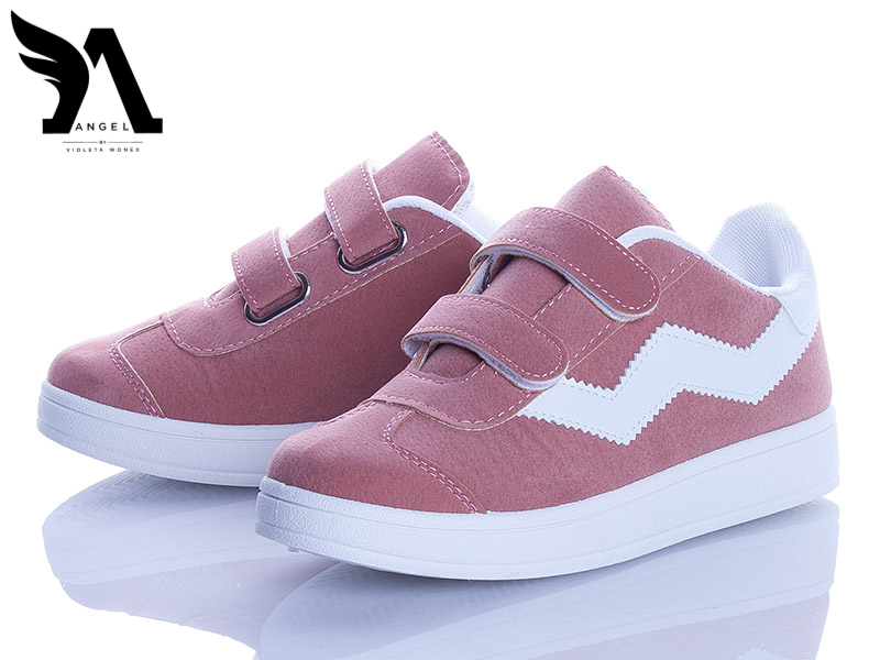 Кеды Angel (220-6 pink-white)